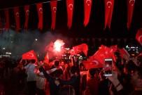 2020 AVRUPA ŞAMPİYONASI - Aydın'da Milli Maç Heyecanı Kent Meydanında Yaşandı
