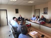Burhaniye'de Organize Sanayi Heyeti Toplandı