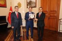 KAMU DENETÇİLERİ - Kamu Başdenetçisi Malkoç'tan Vali Öksüz'e Ziyaret