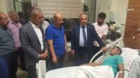 HAİN SALDIRI - Rektör Turgut'tan Yaralı Askere Ziyaret