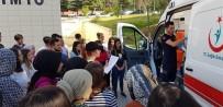 OKSİJEN TÜPÜ - 112 Ekibinden Üniversitelilere Ambulanslı Eğitim