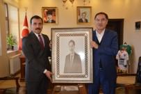 KAMU DENETÇİLERİ - Kamu Başdeneticisi Malkoç'tan Kaymakam Koşal'a Ziyaret