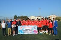 CEMAL ŞAHIN - Kaymakam Türköz'en Futbol Takımına Amatör Spor Haftası Ziyareti