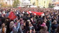 Münbiç Şehidi Üsteğmen Bozbıyık'ı Binler Uğurladı