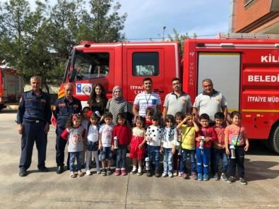 Okul Öncesi Eğitimi Gören Öğrencilerine Yangın Eğitimi