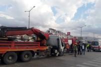 Afyonkarahisar'da Trafik Kazası Açıklaması 3 Yaralı