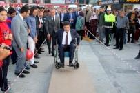Belediye Başkanı Engellilerin Yaşadığı Zorlukları Yaşayarak Test Etti