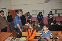Bulanık Polisi Öğrencileri Kütüphaneyle Buluşturdu