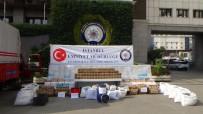 İstanbul'da Düzenlenen Operasyonda Binlerce Paket Yasaklı İlaç Ele Geçirildi