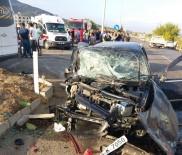 Kahramanmaraş'ta Trafik Kazası Açıklaması 1 Ölü, 15 Yaralı