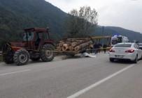 Traktörden Çıkan Römork Devrildi Açıklaması 1 Ölü