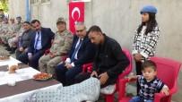 Vali Gündüzöz Ve Güvenlik Güçlerinden 'Barış Pınarı' Gazisine Ziyaret
