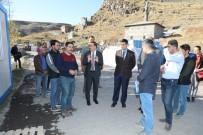 Vali Türker Öksüz, Bedesten İnşaatında İncelemelerde Bulundu