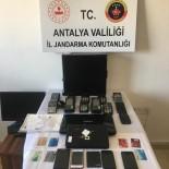Alanya'da Kredi Kartı Dolandırıcılarına Operasyon Açıklaması 5 Gözaltı
