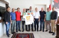 Alanyaspor'dan Lakadamyalı'ya 'Hayırlı Olsun' Ziyareti