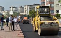 Başkan Uysal, Yol Çalışmalarını İnceledi