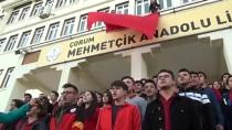 Bin 200 Öğrenciden Mehmetçiğe 'Komando Andı' İle Selam
