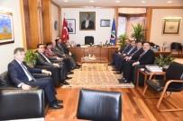 BEKİR ŞAHİN TÜTÜNCÜ - DDK Başkanı Yunus Arıncı'dan Rektör Çomaklı'ya Ziyaret