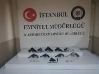 İstanbul'da Silah Kaçakçılığı Ve Tefecilik Operasyonu Açıklaması 3 Gözaltı