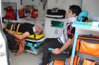 Kocaeli'de 2 Otomobil Çarpıştı Açıklaması 4 Yaralı