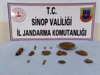 Sinop'ta Tarihi Eser Kaçakçığı Zanlıları Adliyede