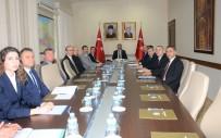 SÜLEYMAN ÖZDEMIR - Üniversite Güvenlik Koordinasyon Toplantısı Yapıldı
