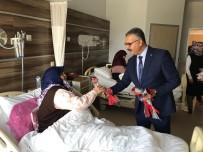 Ahlatcı'dan Hastane Ziyareti