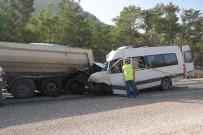 ANASTASİA - Akkuyu NGS'den Trafik Kazası Açıklaması