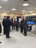 HÜSEYIN KESKIN - DHMİ Genel Müdürü Keskin'den Hava Trafik Kontrol Merkezine Ziyaret
