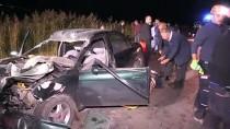 Düğün Dönüşü Kaza Yapan Aileden 5 Kişi Yaralandı