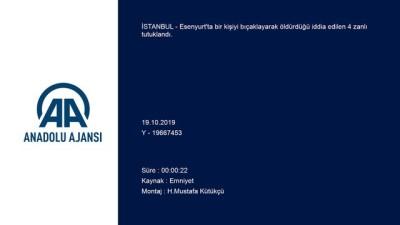 Esenyurt'taki Cinayetin Şüphelileri Tutuklandı
