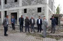 Varto Müftüsü Öztürk, Kuran Kursu İnşaatını İnceledi