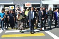 TRAFİK IŞIĞI - Ardahan'da 'Yaya Güvenliği Nöbetçisiyiz' Etkinliği Düzenlendi
