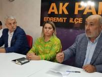 Edremit'te Meclis Üyelerinin Vekil Başkan Gerginliği