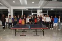 İnönü'de Masa Tenisi Turnuvası Başladı