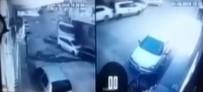 HAFRİYAT KAMYONU - İzmir'de Dehşet Anları Açıklaması 9 Aracı Önüne Kattı