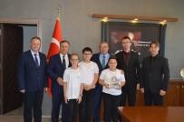 Kaymakam Kaya, Türkiye İkincisi Ekibi Tebrik Etti