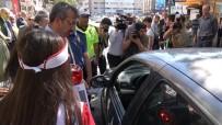 Kırıkkale'de 'Yaya Güvenliğinin Nöbetçisiyiz' Uygulaması