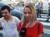 EZİLME TEHLİKESİ - Taksim'de 'Öncelik Hayatın, Öncelik Yayanın' Etkinliği Düzenlendi