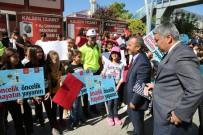 Tunceli'de 'Yaya Geçidi Nöbeti' Etkinliği