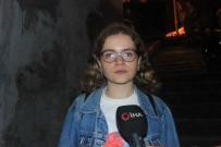 BEŞIKTAŞ BELEDIYESI - Genç kızın dehşeti yaşadığı anlar kamerada