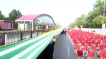 GUINNESS REKORLAR KITABı - Dünyanın En Uzun Bayrağı Keşmir İçin Açıldı