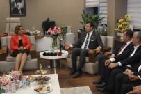Ekrem İmamoğlu - İmamoğlu'ndan İzmit Belediye Başkanı Fatma Kaplan Hürriyet'e Ziyaret