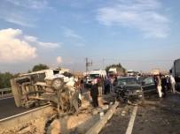 Mardin'de Trafik Kazası Açıklaması 1 Ölü, Başsavcı İle Birlikte 9 Yaralı