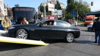 Üsküdar'da Lüks Araç Kaza Yaptı Açıklaması 6 Yaralı