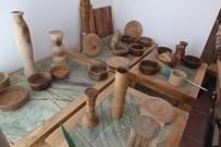 Balıkesirli Mühendis Zeytin Odunlarını Sanat Eserine Dönüştürüyor