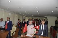 Burdur Belediye Meclisi Ve Partilerden Barış Pınarı Operasyonuna Destek