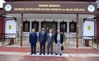 MEHMET ÇıNAR - Deprem Eğitim Simülasyon Merkezi Gezildi