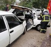 ÖRENCIK - Ordu'da Trafik Kazası Açıklaması 1 Ölü, 2 Yaralı