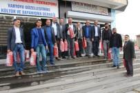 Varto'daki Cami Ve Cem Evlerine Yangın Tüpü